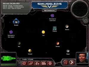 A System Map in Smugglers 5