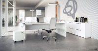 White desks   white office desks   white long desks