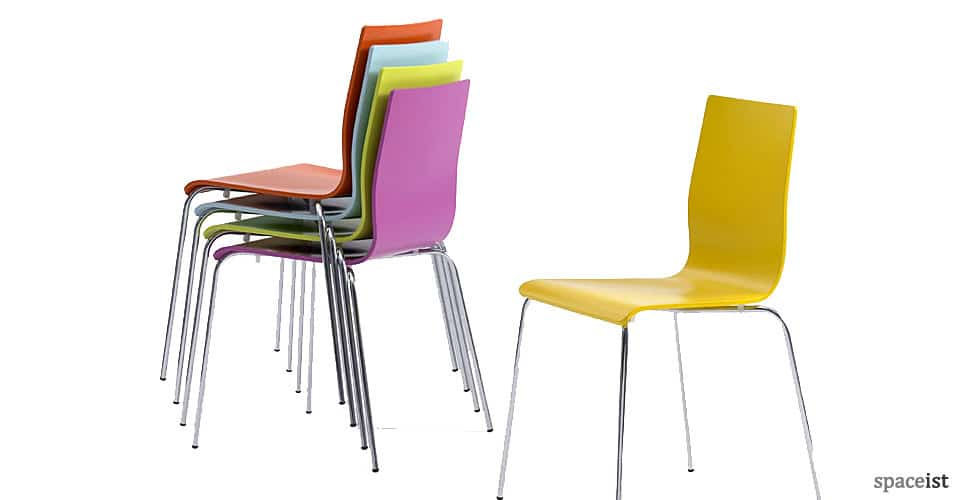 Cafe Chairs : Anno red chair