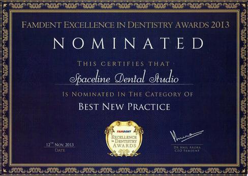 Dental Clinic in Mumbai Award