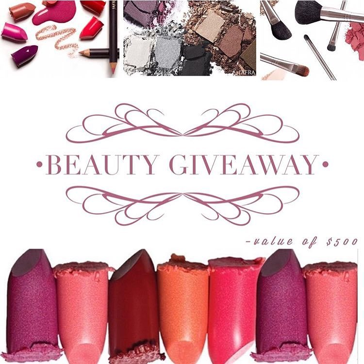 INTERNATIONALBEAUTY GIVEAWAY One lucky winner will take 500 in Makeuphellip