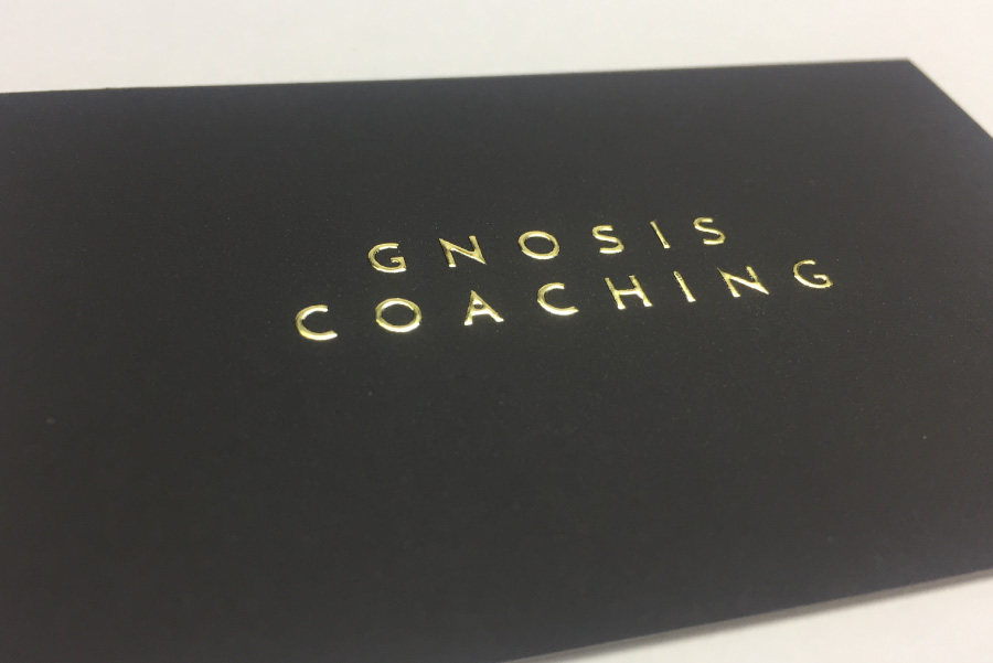 Foil Business Card. foil stamped business cards with sliver, gold ...