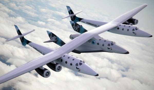 Virgin Galactic's SpaceShipTwo (Credits: Virgin Galactic).