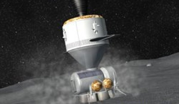 Artist's impression of spacecraft for deep space NEO mission - (Credits: Digital Space).