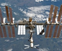 The International Space Station in 2011 (Credits: NASA).