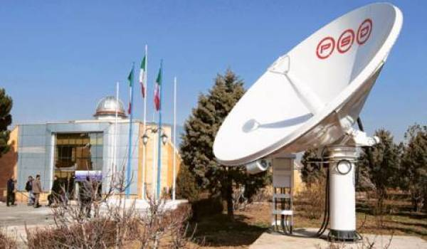 A view of the Alborz Space Center west of Tehran (Credits: Reuters).