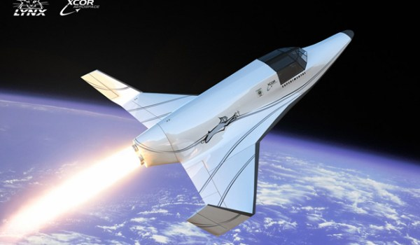 XCOR's Lynx Suborbital Vehicle (Credits: XCOR Aerospace).