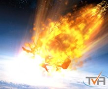 Reentry breakup illustration (Credits:TVA).