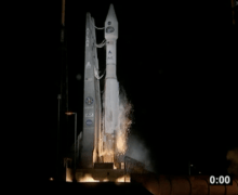Altas 5 blasts off from  Cape Canaveral carrying TDRS-K, on January 30