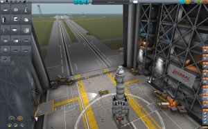 The rocket assembly facility in the game, where players can build up their launchers (Credits: Squad).