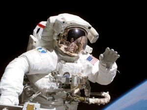 NASA's Extravehicular Mobility Unit, or EMU (Credits: NASA).