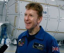ESA astronaut Timothy Peake photographed by Andreas Schepers