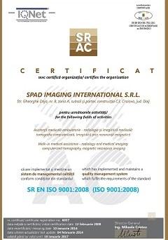 Certificat ISO 9001 : 2008