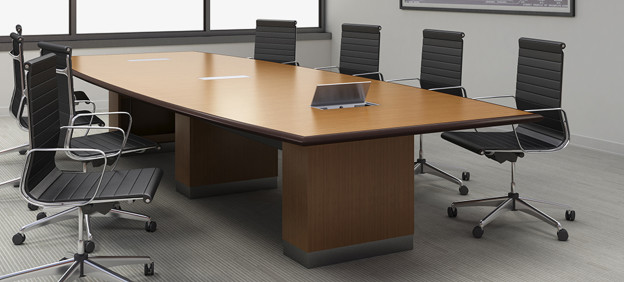 Which Table Is Better For Your Office Round Or Rectangular? Office