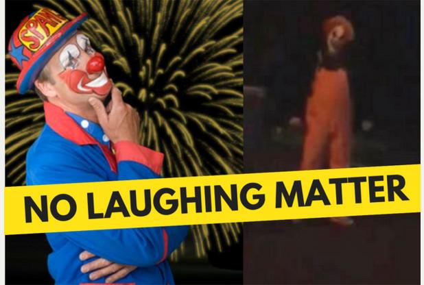 Spangles Versus Killer Clowns Article