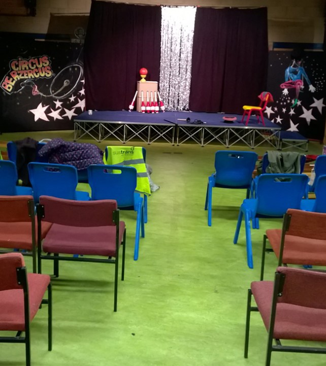 Circus Berzercus Performance Woodborough School