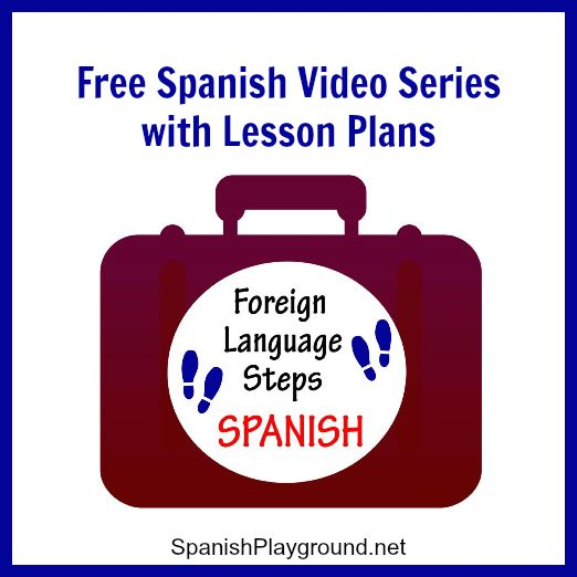 Spanish video - Free series with lesson plans for elementary school