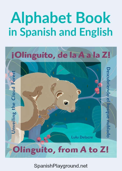 Spanish Alphabet Book Olinguito - Spanish Playground - alphabet in spanish