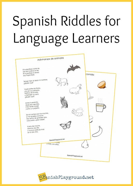 Spanish Riddles for Language Learners - Spanish Playground