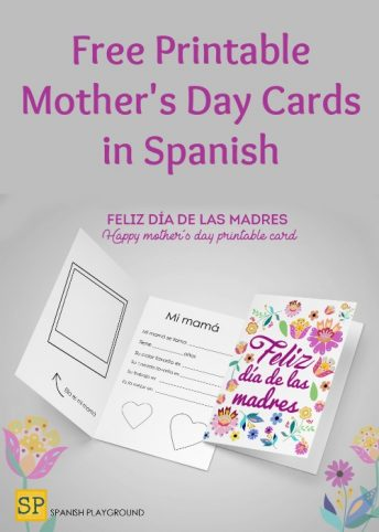 Mother\u0027s Day Archives - Spanish Playground