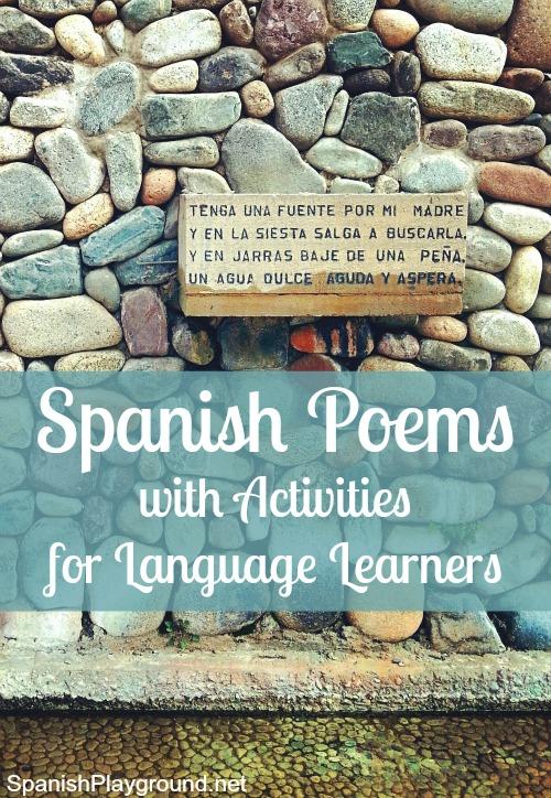 Spanish Poems for Kids - Spanish Playground