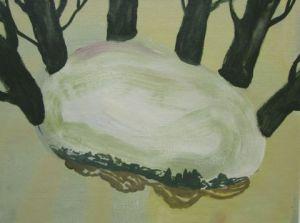 z.t. 40 x 30 cm, olie op doek, 2011