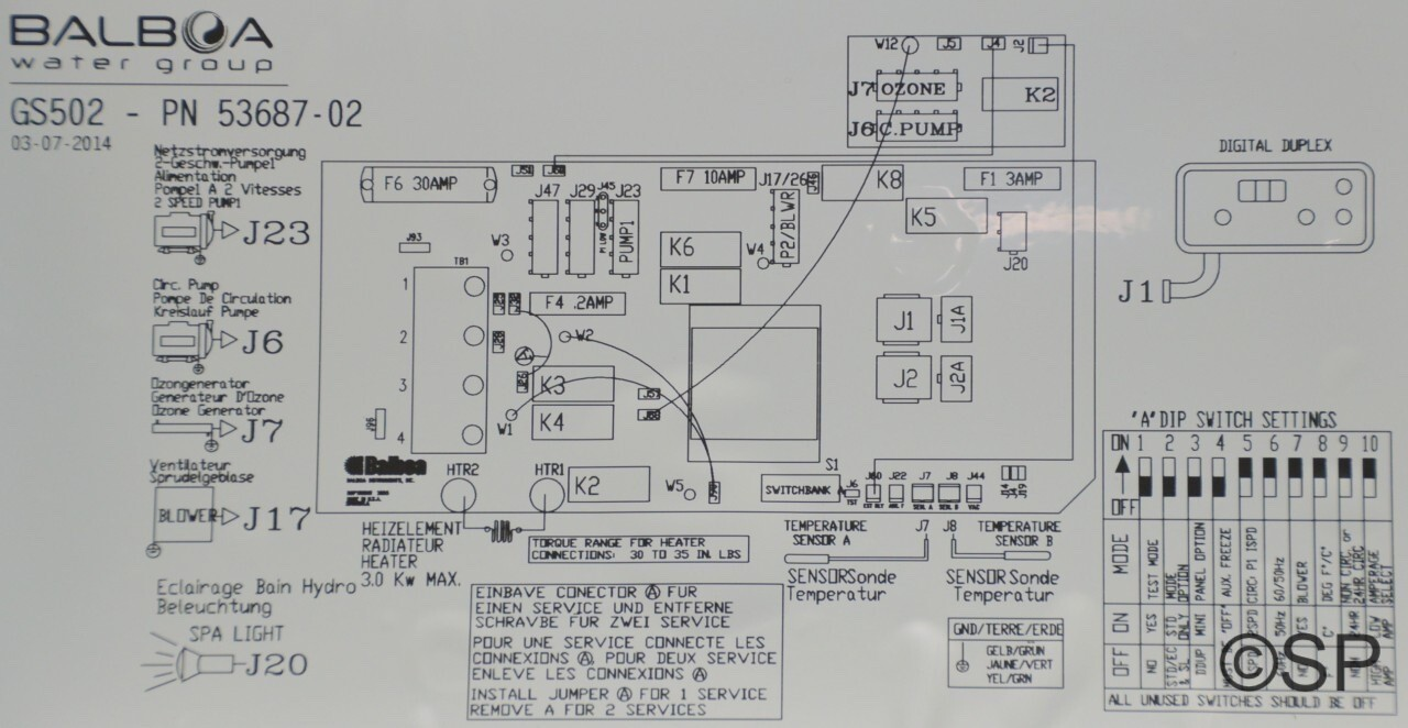 waterco spa pump wiring diagram