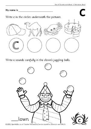 KS1 alphabet worksheets, KS1 phonics worksheets - Alphabet and
