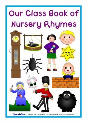 Printable Nursery Rhyme Song Lyric Sheets - SparkleBox