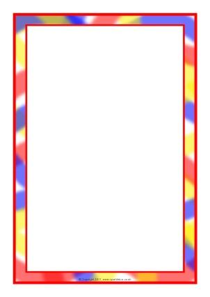Writing Frames and Printable Page Borders KS1  KS2 - SparkleBox