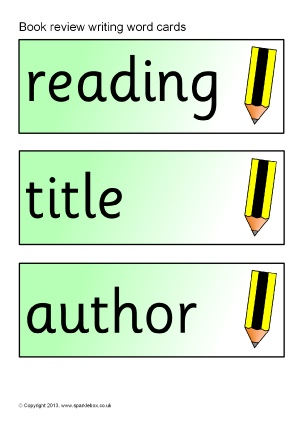 Book Review Writing Frames and Printable Page Borders KS1  KS2 - book review template