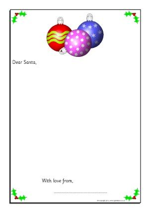 Christmas Writing Frames and Printable Page Borders KS1  KS2