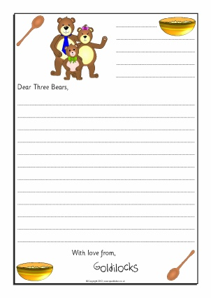 Letter Writing Frames and Printable Page Borders KS1 \ KS2 - letter writing template