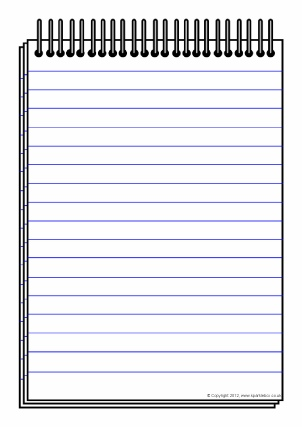 notepad template word - Onwebioinnovate - notepad template for word