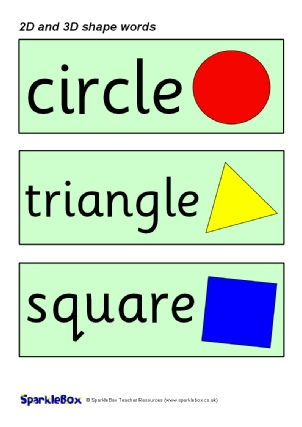 KS1 and KS2 Shapes Teaching Resources and Printables - SparkleBox
