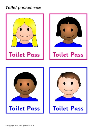 Toilets and Washroom Signs and Labels for Primary School - SparkleBox