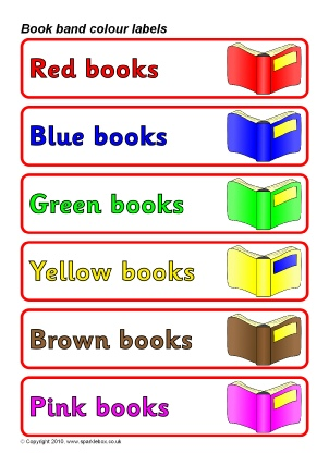 School Library Signs and Labels for Primary - SparkleBox