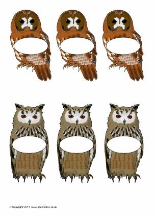 Owl-Themed Classroom Printables - SparkleBox
