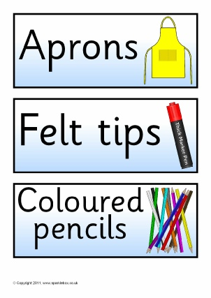Classroom Signs and Labels Printables for Primary Schools - SparkleBox