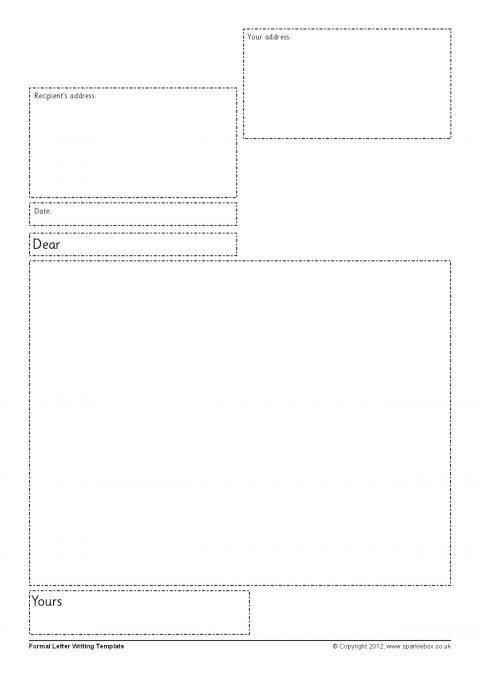 Letter Writing Frames and Printable Page Borders KS1  KS2 - SparkleBox