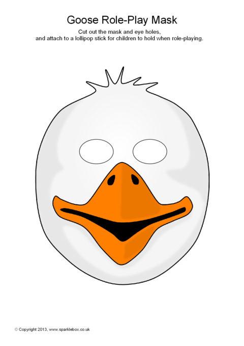 Printable Farm Animal Masks for Kids - SparkleBox