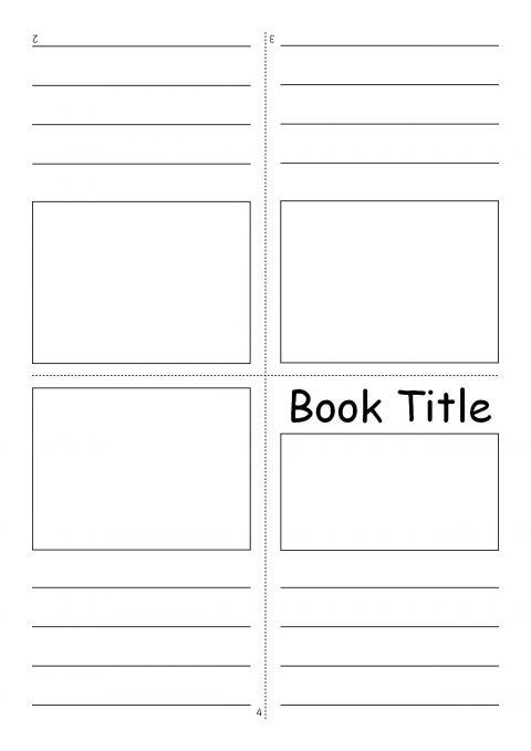 writing templates for kindergarten