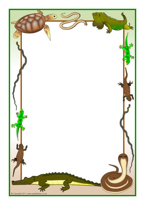 free border templates for word