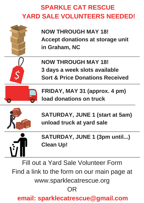 YARD SALE VOLUNTEER FORM