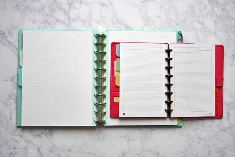 Why I Use the Discbound System Notebooks and Planners - Sparkles of - notebook binder