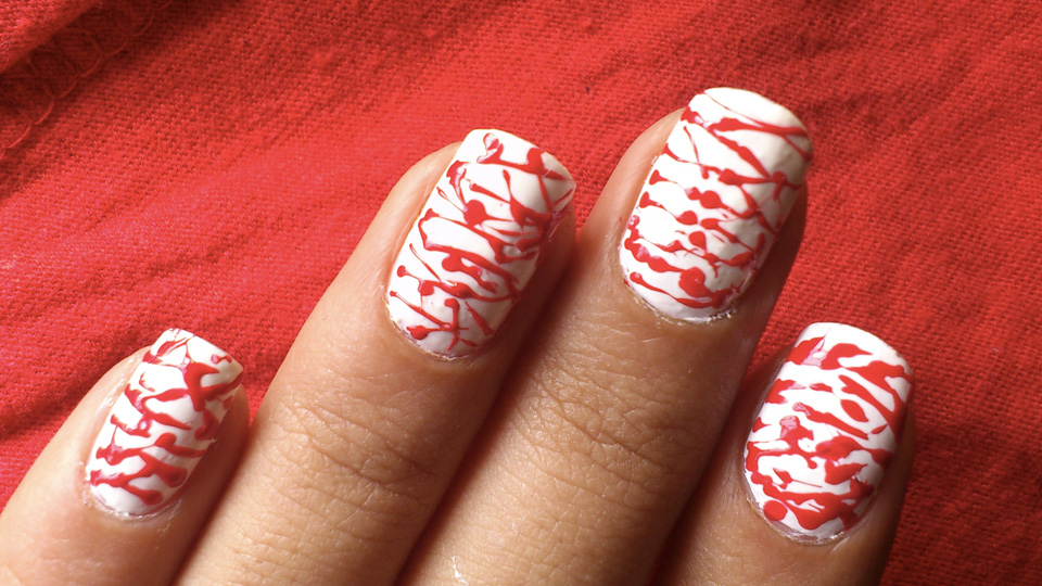 10 Scary Halloween Nail Designs For A Treat Sparkly