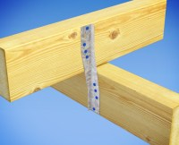 Fix Ceiling Joists to Hanging Beams with JoistStrap | MiTek