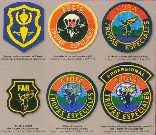 Commando Tropas Especiales, Cuban special Forces Insignia Commando Tropas especiales (CTE)