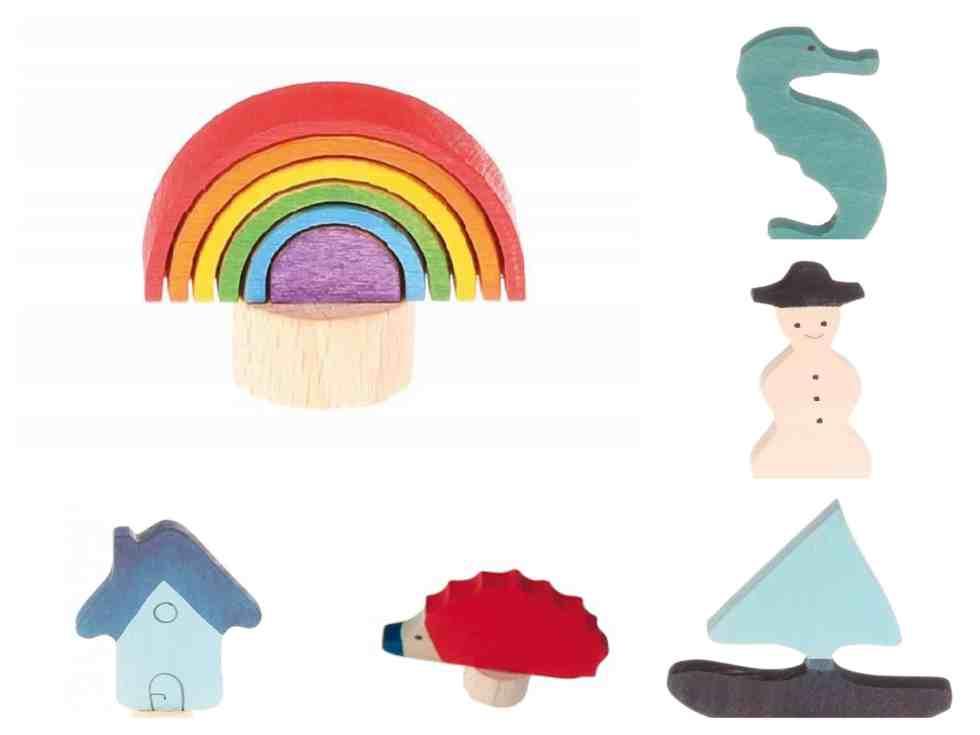 Bella Luna ornaments - montage
