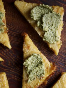 Italian chickpea flat bread